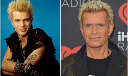 Billy Idol's eyes and hair color