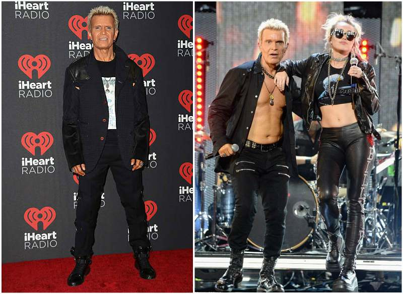 Billy Idol's height, weight and age