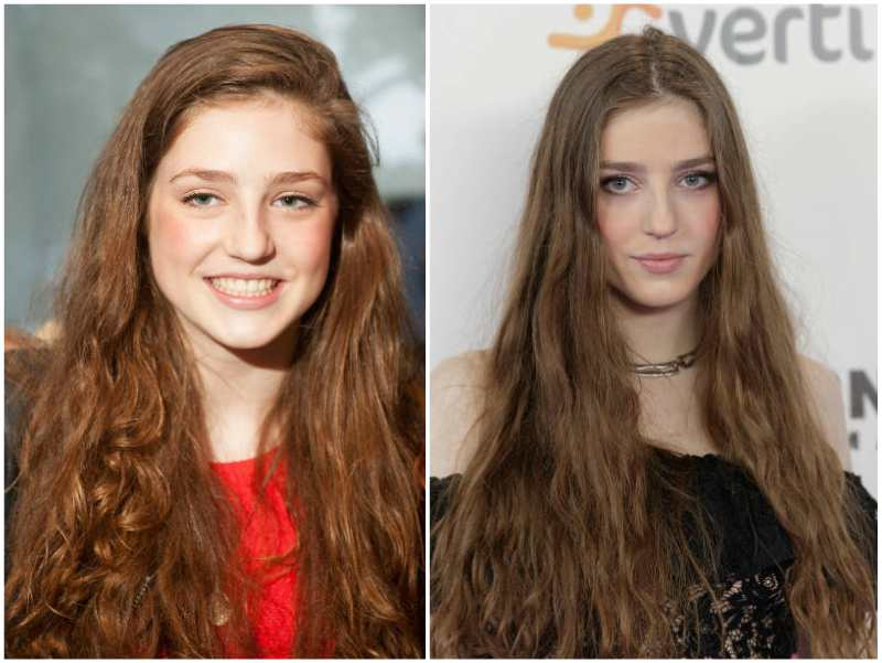 Birdy's eyes and hair color