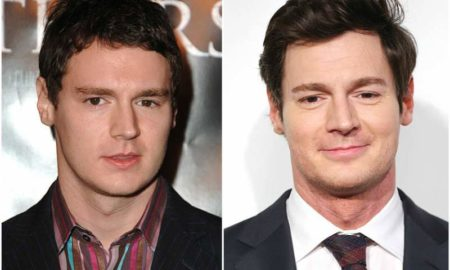 Benjamin Walker's eyes and hair color