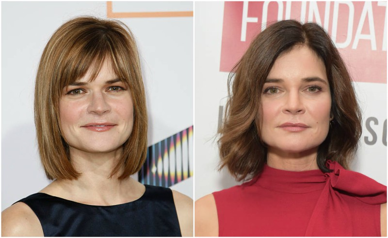 Betsy Brandt's eyes and hair color