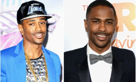 Big Sean's eyes and hair color