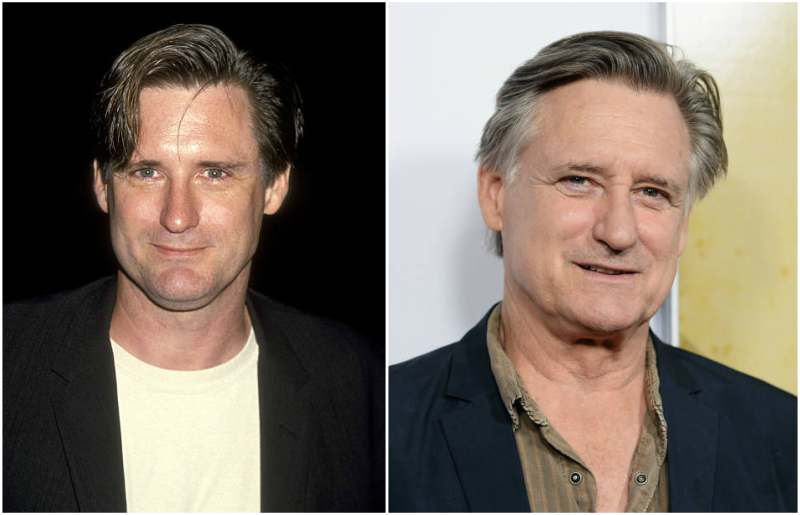 Bill Pullman's eyes and hair color