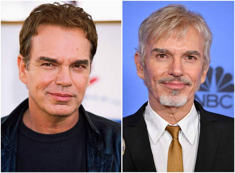 Billy Bob Thornton's eyes and hair color