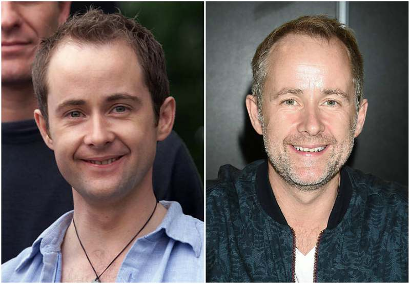 Billy Boyd's eyes and hair color