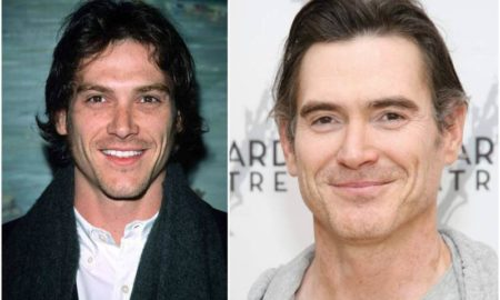 Billy Crudup's eyes and hair color
