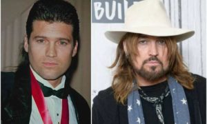 Billy Ray Cyrus eyes and hair color