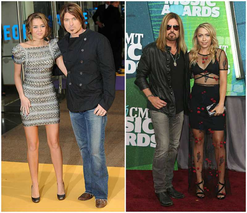 Billy Ray Cyrus' height, weight and age