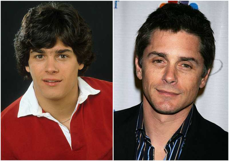 Billy Warlock's eyes and hair color