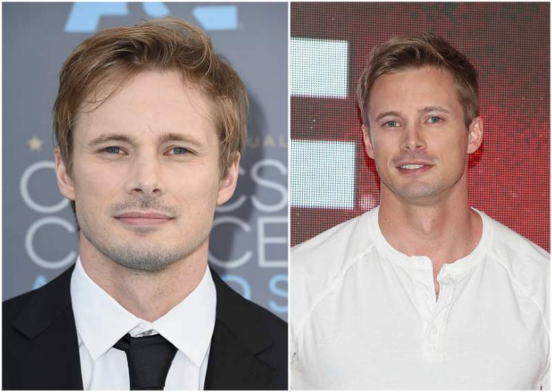 Bradley James' eyes and hair color