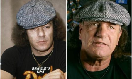 Brian Johnson's eyes and hair color