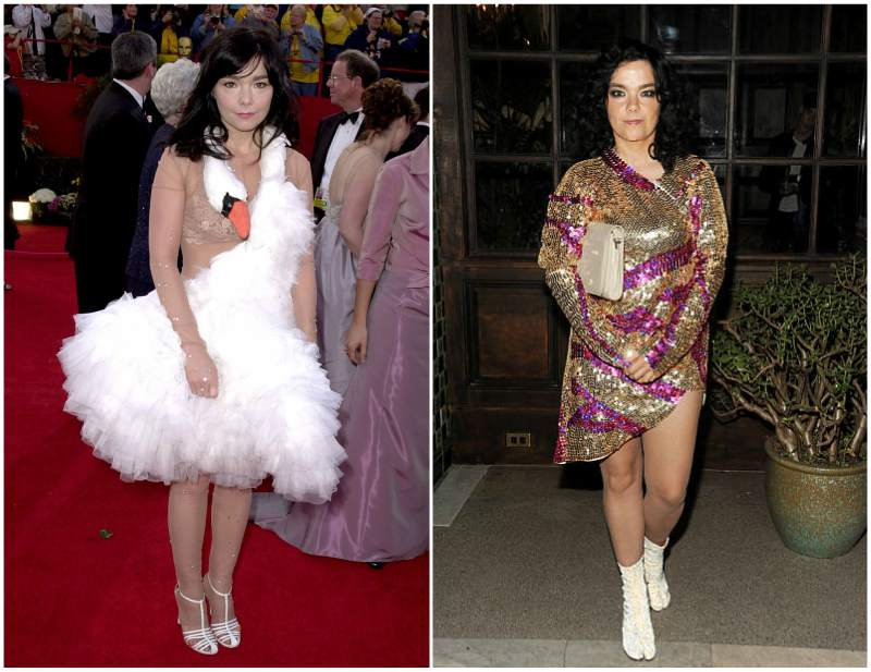 Bjork's height, weight and body measurements