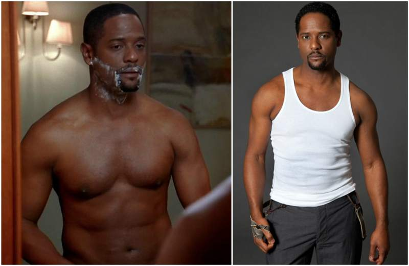 Blair Underwood's height, weight and age