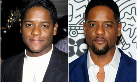 Blair Underwood's eyes and hair color