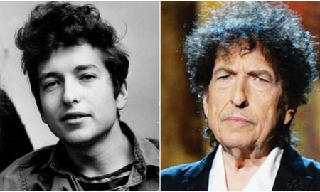 Bob Dylan's eyes and hair color