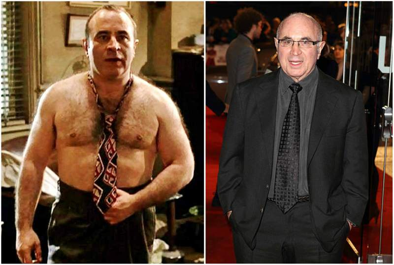 Bob Hoskins' height, weight and age