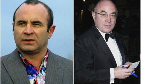 Bob Hoskins' eyes and hair color