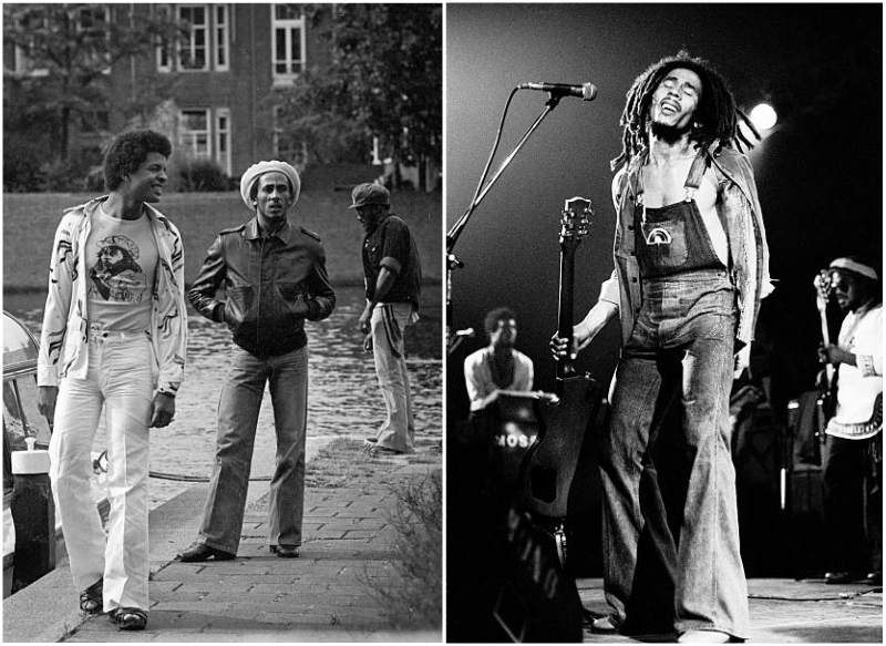 Bob Marley's height, weight and age