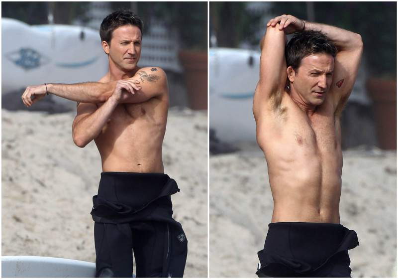 Breckin Meyer's height, weight and body measurements