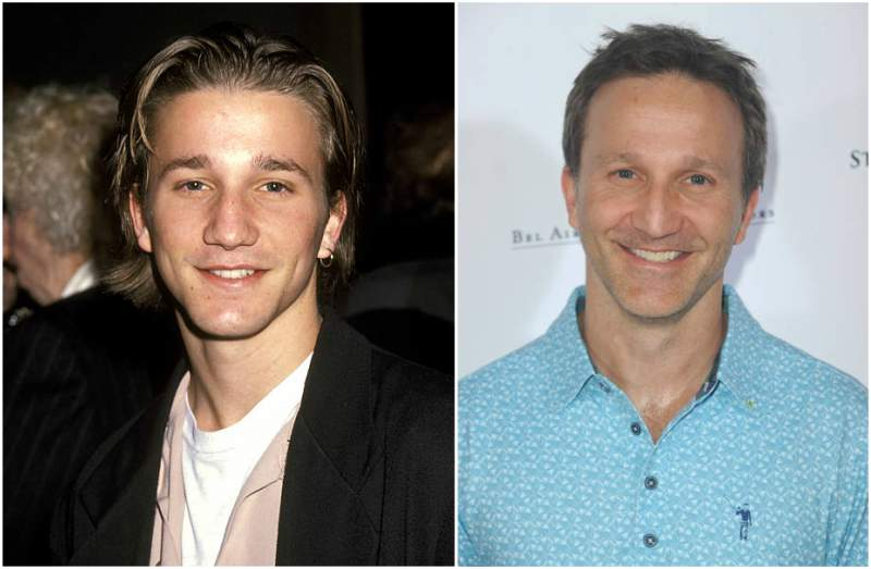 Breckin Meyer's eyes and hair color