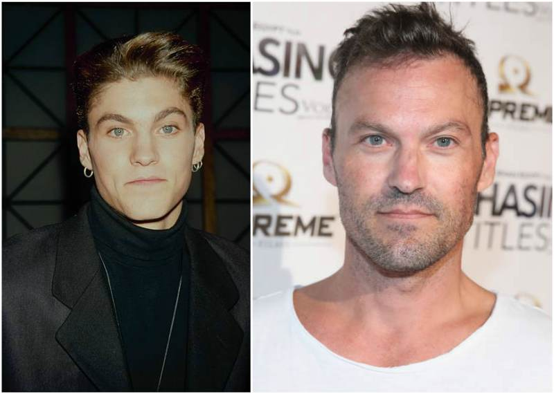 Brian Austin Green's eyes and hair color