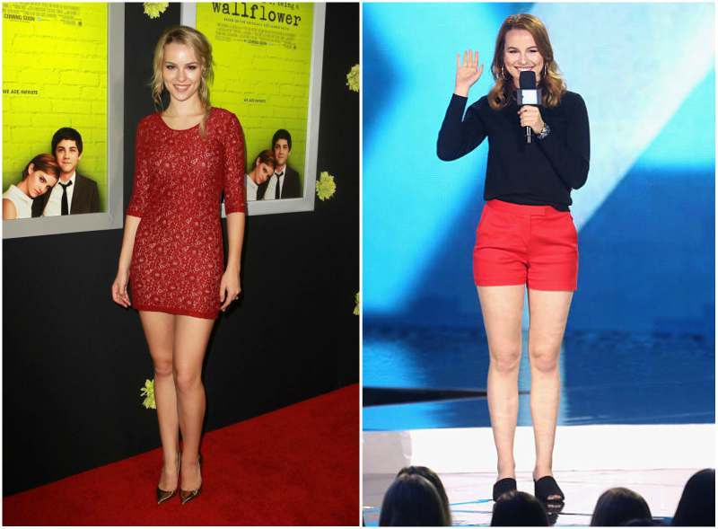 Bridgit Mendler's height, weight and body measurements