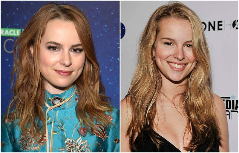 Bridgit Mendler's eyes and hair color