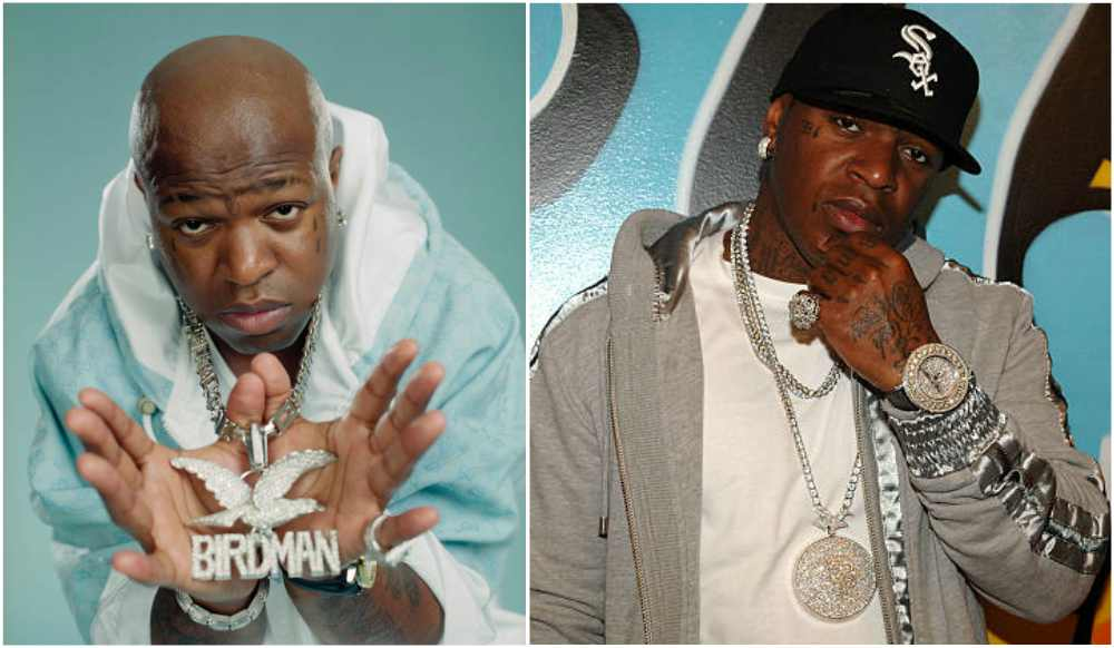 Birdman's eyes and hair color