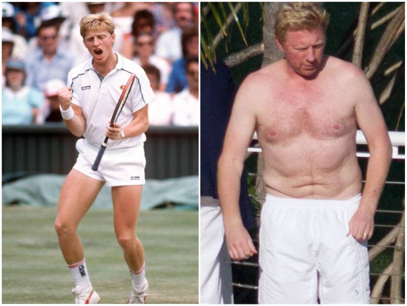Boris Becker's height, weight and age