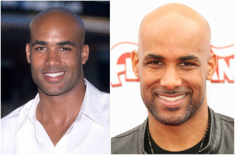 Boris Kodjoe's eyes and hair color