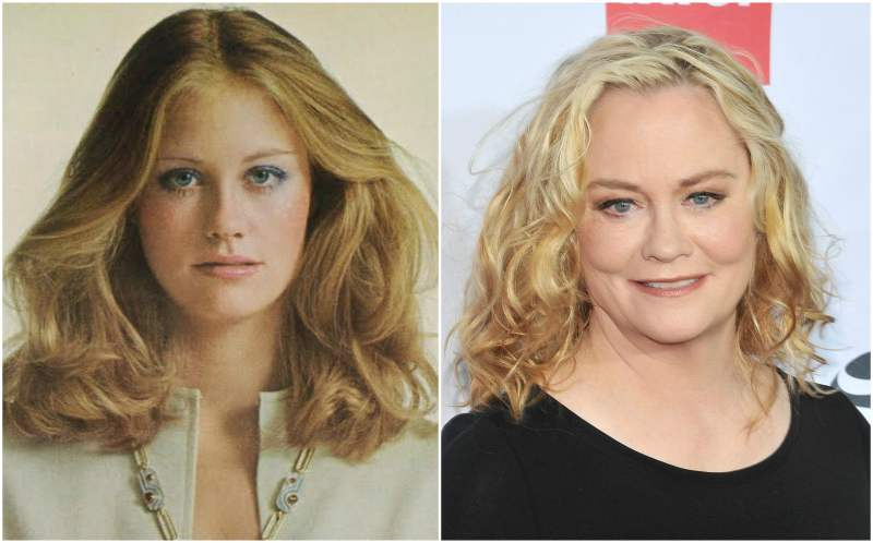 Cybill Shepherd's eyes and hair color