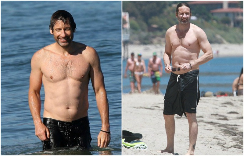 David Duchovny's height, weight and body measurements