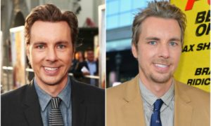 Dax Shepard's eyes and hair color