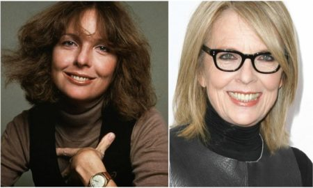 Diane Keaton's eyes and hair color