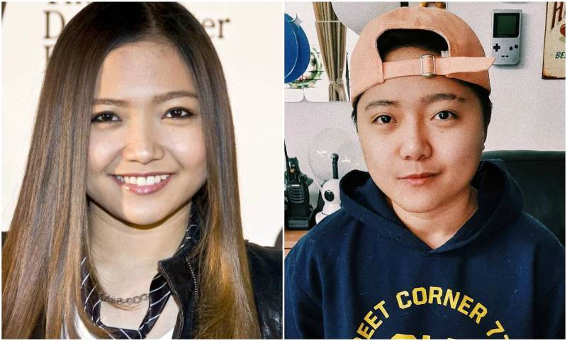 Jake Zyrus' eyes and hair color