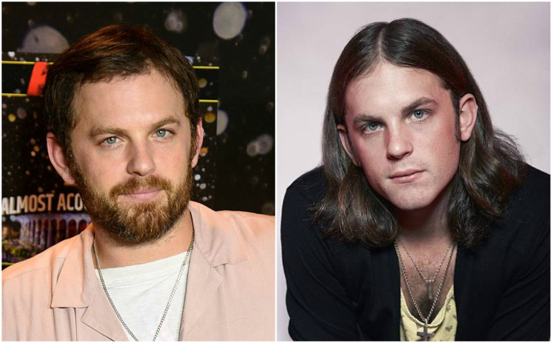 Caleb Followill's eyes and hair color