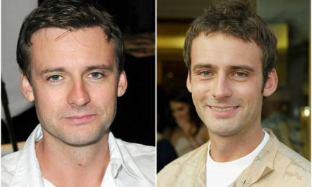Callum Blue's eyes and hair color