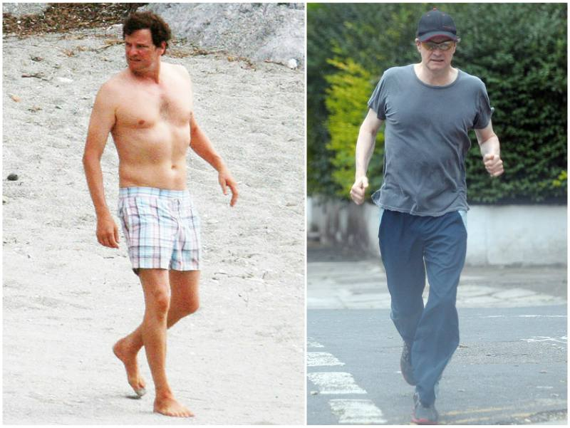 Colin Firth's height, weight and age
