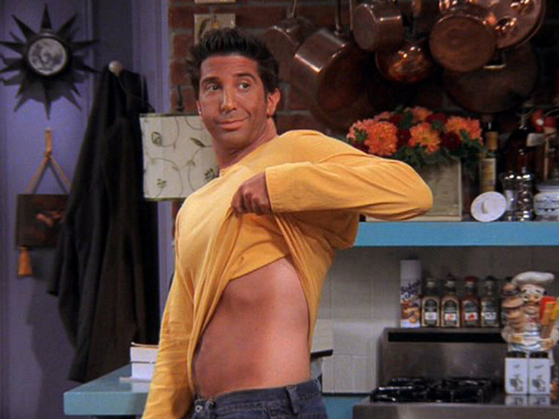 David Schwimmer's height, weight and body measurements
