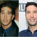 David Schwimmer's height, weight. His body changes