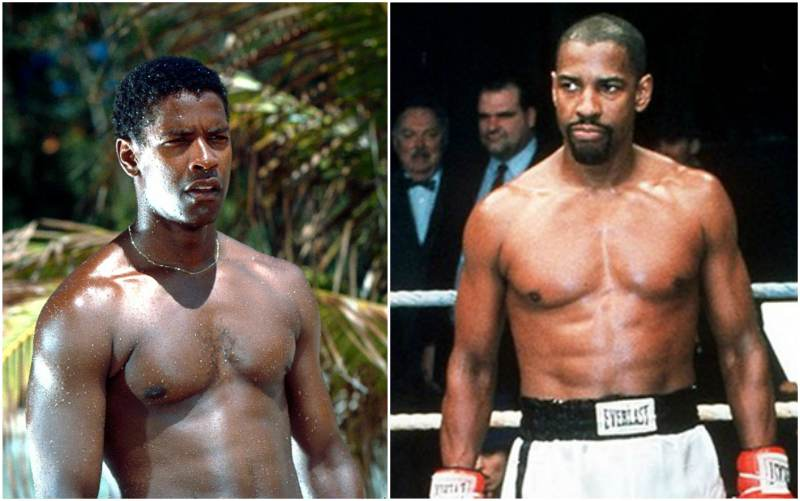 Denzel Washington's height, weight and age