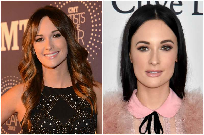 Kacey Musgraves' eyes and hair color