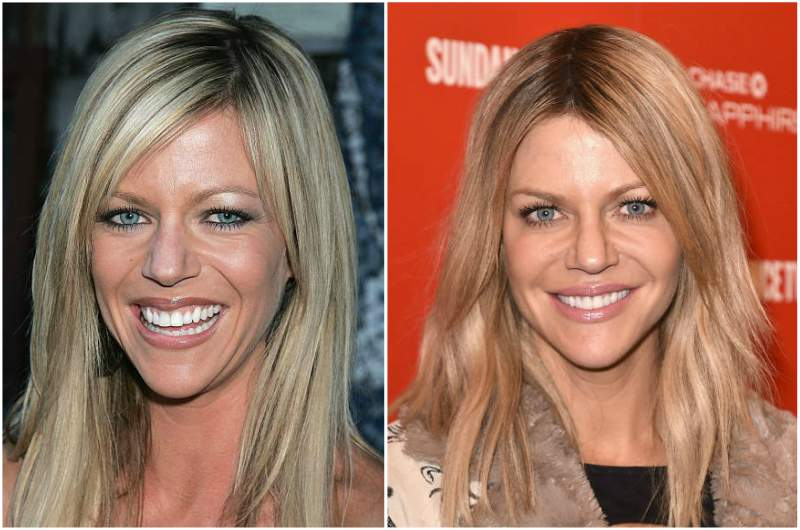 Kaitlin Olson's eyes and hair color