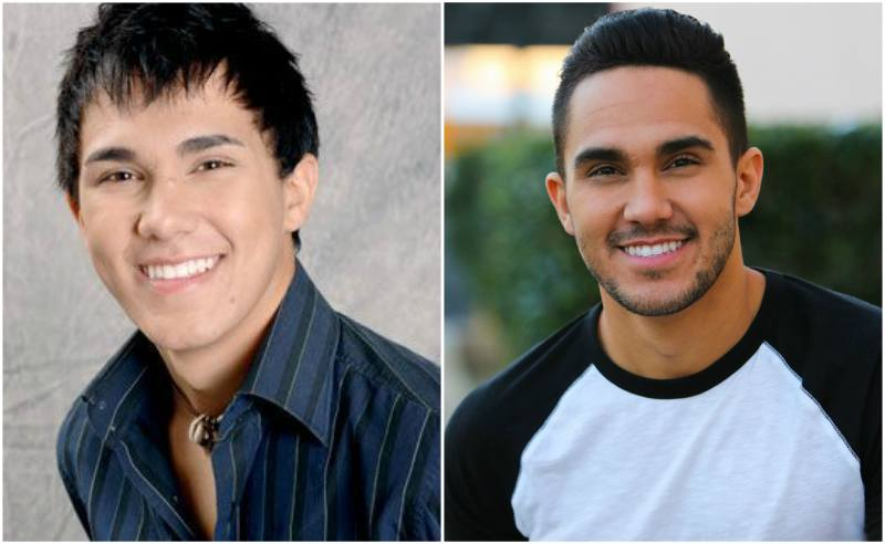 Carlos Pena Jr eyes and hair color