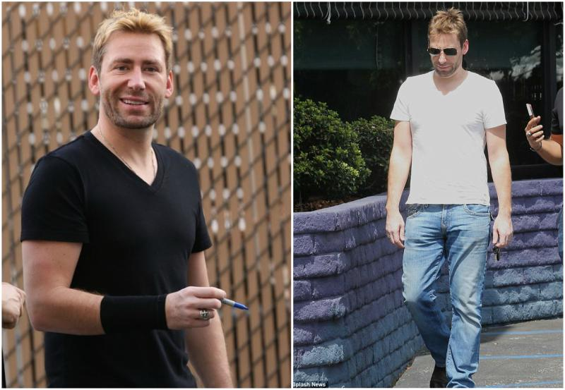 Chad Kroeger's height, weight and age
