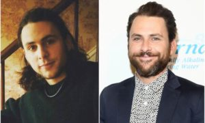 Charlie Day's eyes and hair color