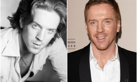 Damian Lewis' eyes and hair color