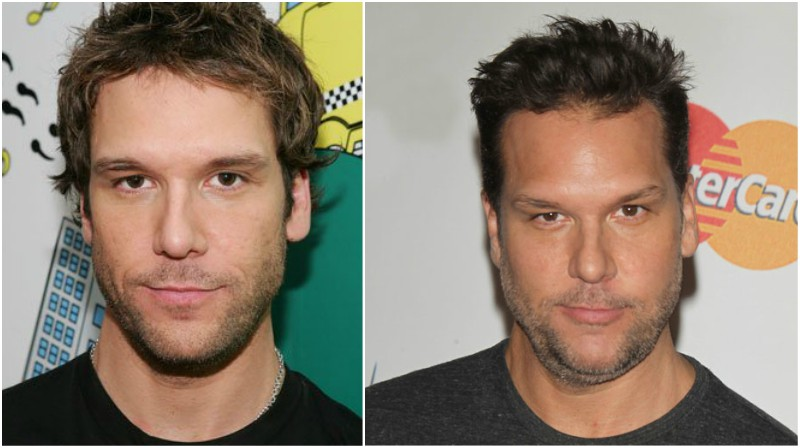 Dane Cook's eyes and hair color