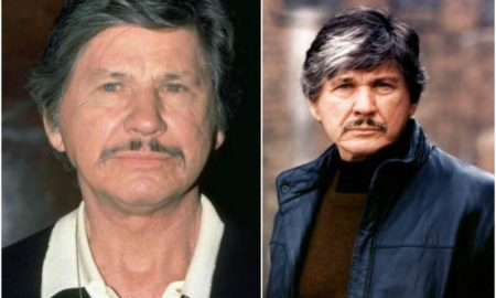 Charles Bronson's eyes and hair color