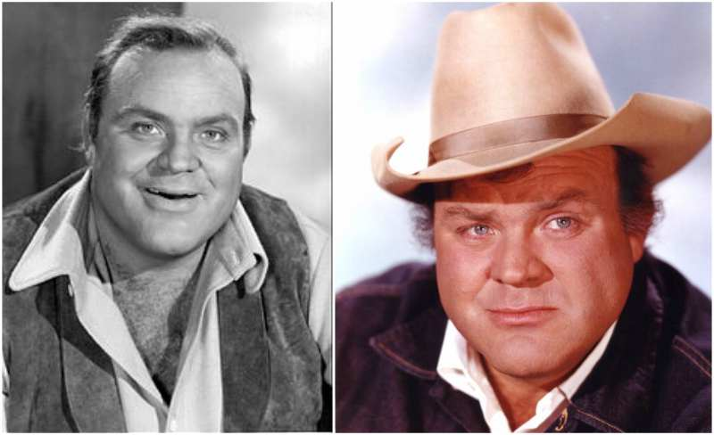 Dan Blocker's eyes and hair color